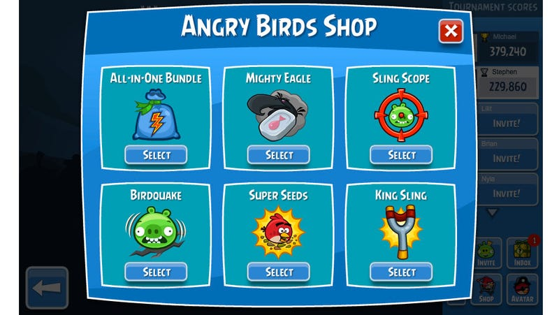 Go Try Angry Birds on Facebook. It's Different Today.