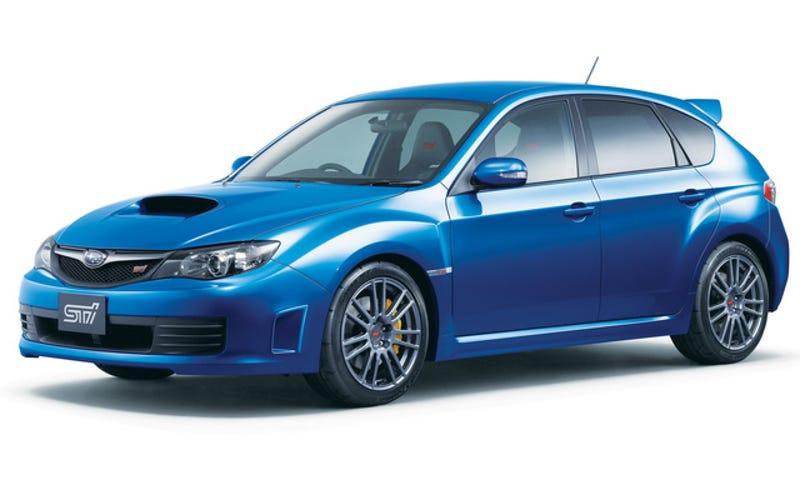 Subaru WRX STI Spec C: 304 HP JDM Bruiser