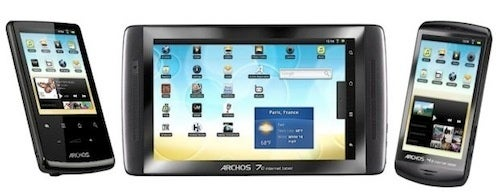 Archos Fires Scattershot of Android Touchscreen Devices
