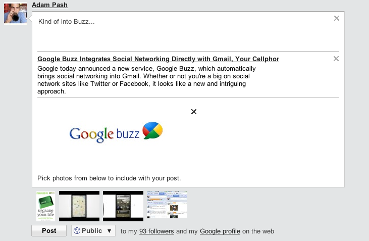 Google Buzz Explained