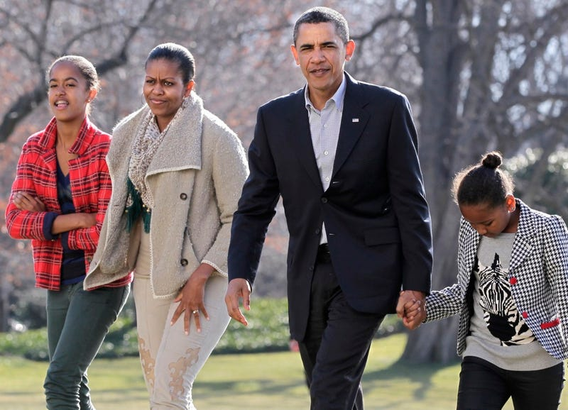 Welcome Back to Wintery Washington, Obama Family!