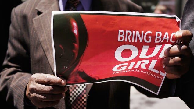The Identity of Man Negotiating Release of Nigerian Girls Is Suspicious