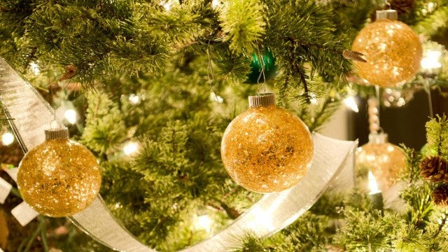 Recycle Broken Glass Ornaments Into New Ornaments