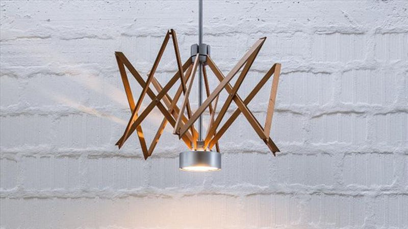 Greek Mythology Inspired the Loom-like Arianna Lamp