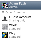 Separate Work and Play with User Identities