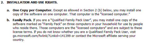 Windows 7 Home Premium Will Have a Family Pack