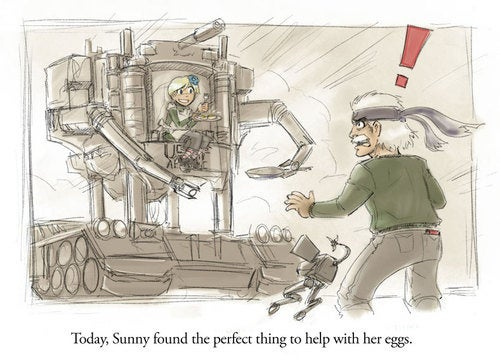 We Like Our Metal Gear Sunny Side Up, Thanks
