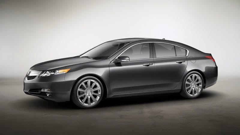 2013 Acura TL: The Keyless Access Special Edition
