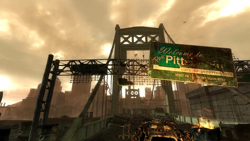 Fallout 3's The Pitt Isn't Quite Right, Bethesda Is On The Case - UPDATE