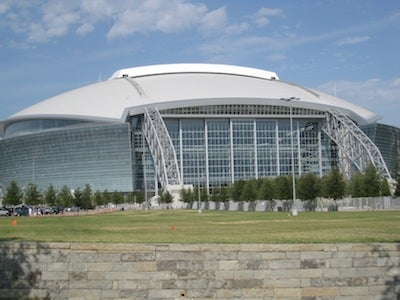 Suspicious Package Found Outside Cowboys Stadium