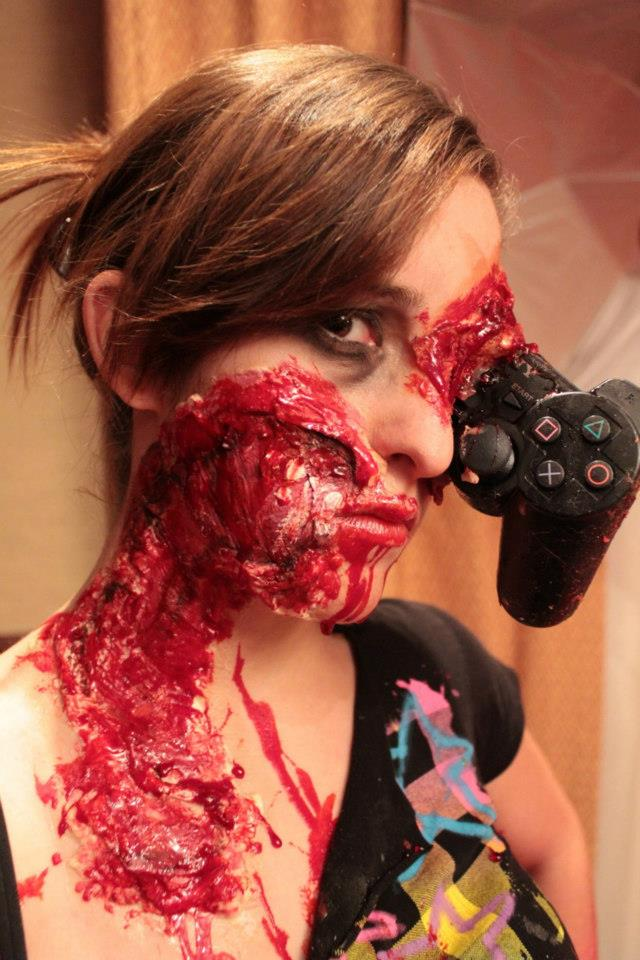 Ever Seen A PS3 Controller Sticking Out Of Someone's Eye Socket? Now You Have.
