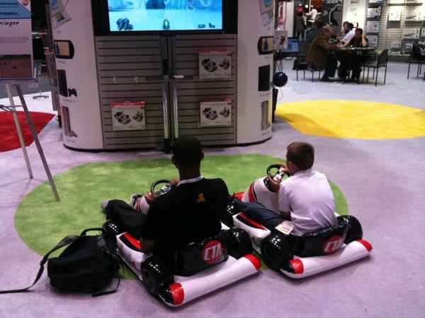 The Ultimate Nintendo Wii Accessory: Inflatable Mario Kart