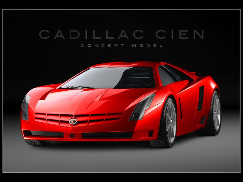 Cadillac thinks a big coupe makes a statement ?