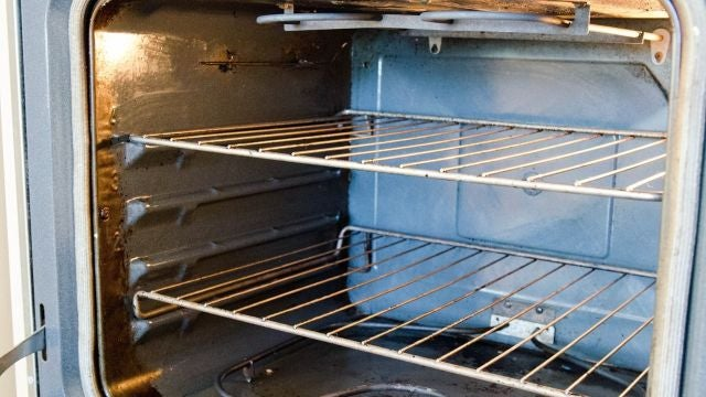 Soak Oven Racks in the Bathtub While You Clean Your Oven
