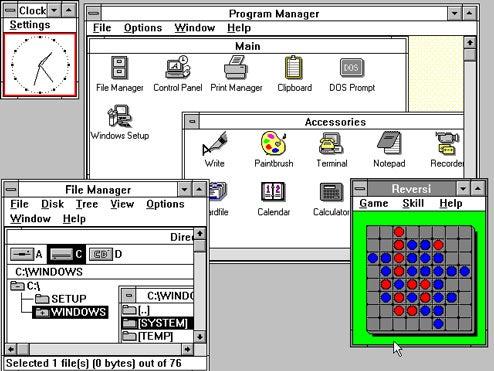Windows 3.0 finally dead