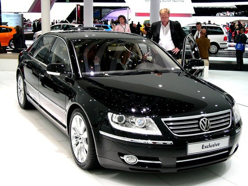 VW Phaeton Exclusive: Because Maybe They'll Buy It If It's More Expensive