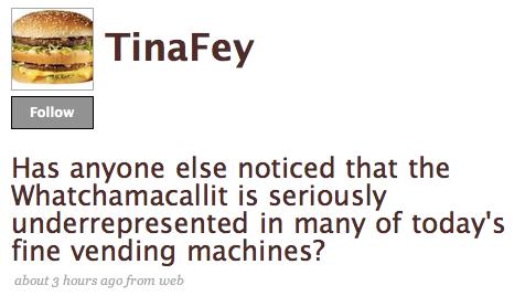 Obviously fake Tina Fey Twitter account annoys Internet