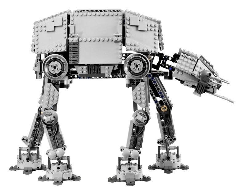 Star Wars AT-AT Made of LEGO, Motorized for Your Amusement