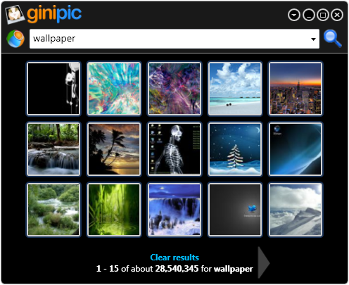 Ginipic Makes Image Search Easy