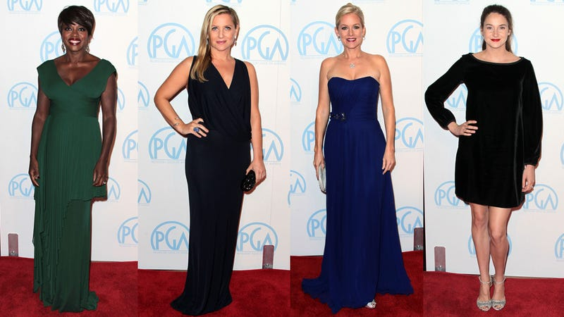 Fashion Pendulum Swings From Mundane to Maniacal at Producers Guild Awards