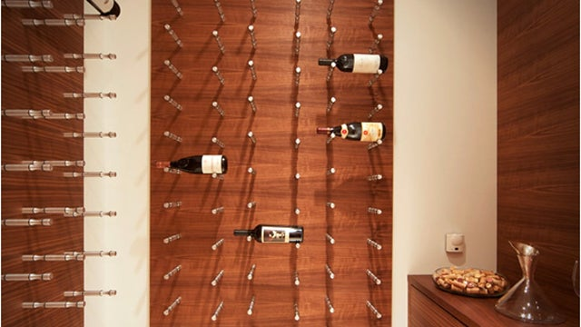 A Wine Rack That Helps You Flash Those Fancy Labels