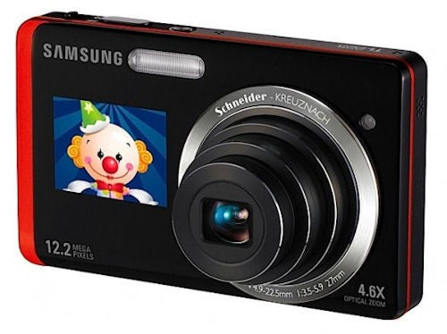 Samsung's TL220, TL225 Touchscreen Shooters See Double: Front-Facing LCD Helps You Frame Self-Portraits