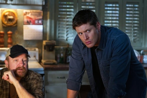 """Supernatural character photos, poster and promo photos from episode 7.02, """"Hello, Cruel World"""""""