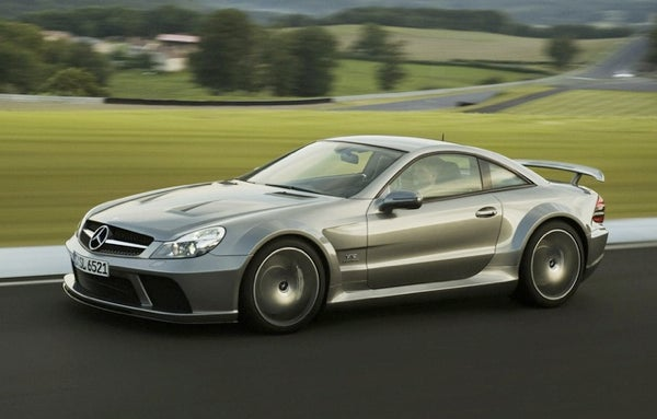 At 661 HP, The 2009 Mercedes-Benz SL65 AMG Black Is A Very Magic Woman