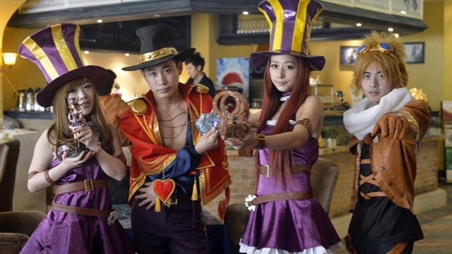 In China, There's a League of Legends Themed Restaurant. It's Totally Unofficial.