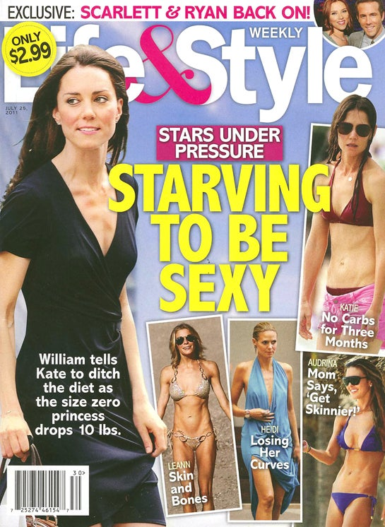 This Week In Tabloids: Kate Middleton Can't Get Knocked Up, She's Anorexic
