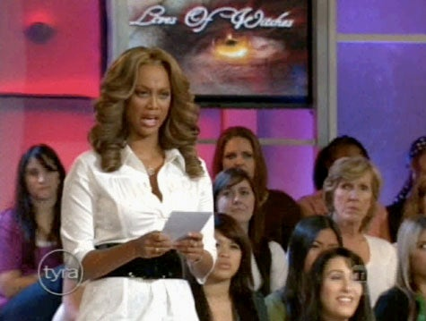 Tyra Banks' Bad British Accent, Unintentional Backflip