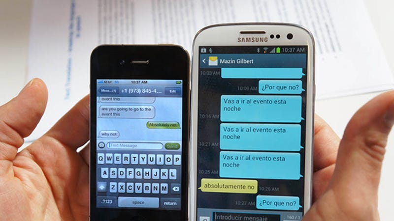 AT&T Wants to Automatically Translate Your Texts From English to Spanish