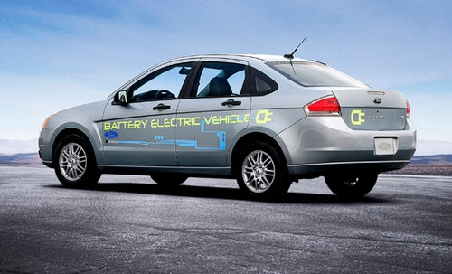 "Jay Leno's ""Star In A Reasonably-Priced Green Car"" To Use Ford's Battery Electric Focus Concept"