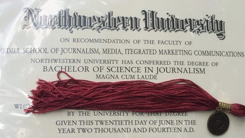 Northwestern's Journalism School Can't Spell Its Own Name
