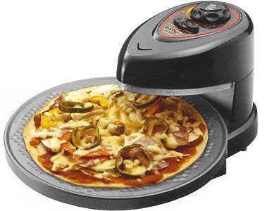 Pizza for Dummies: Presto Pizzaz Doesn't Defy the Laws of Physics