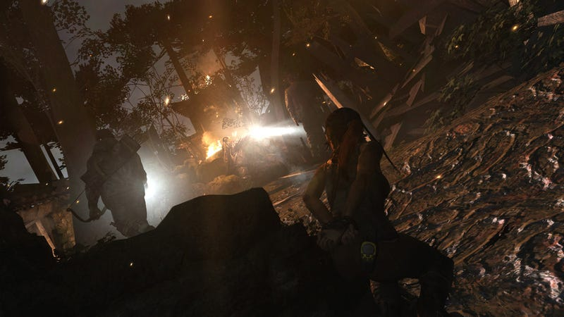Surely There's Some Sort of Controversy Lurking in These New Tomb Raider Screens