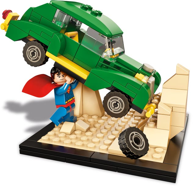 Action Comics' Iconic Superman Cover Is Now Immortalized In Lego