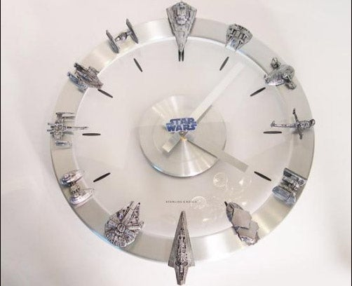 It's Always Space Battle O'Clock With Star Wars Clock