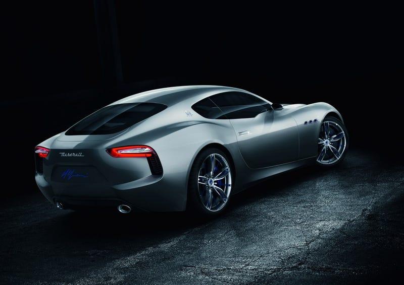 woah there be a Alfa Romeo flagship on the way?