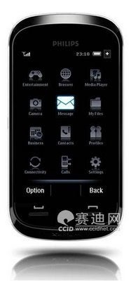 Philips Working on a Full Touchscreen Phone?