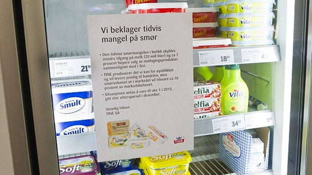Norwegian Butter Crisis Escalates as Swedes Arrested in Smuggling Scheme