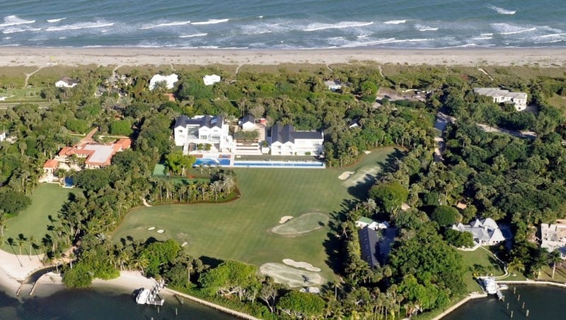 Tiger's $54 Million House Is A Slowly Sinking Metaphor For Something