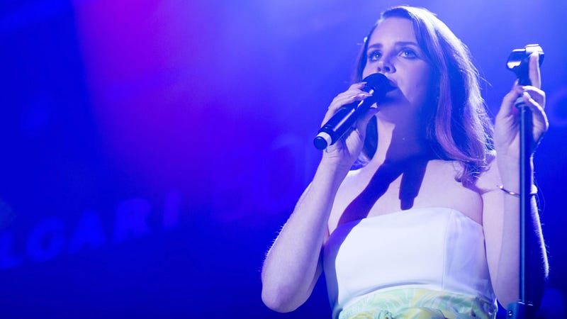Lana Del Rey Says She Played the Kimye Wedding for Free