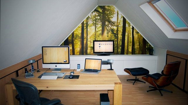 The Workspace in The Roof