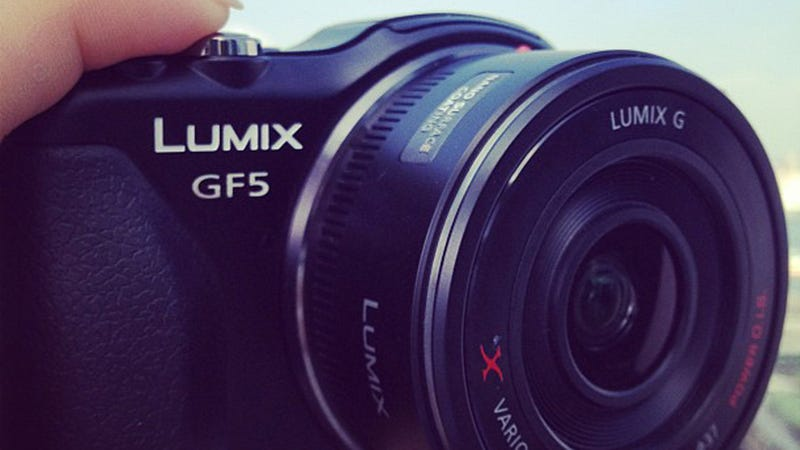 Panasonic Lumix GF5 Micro Four Thirds Camera Leaked