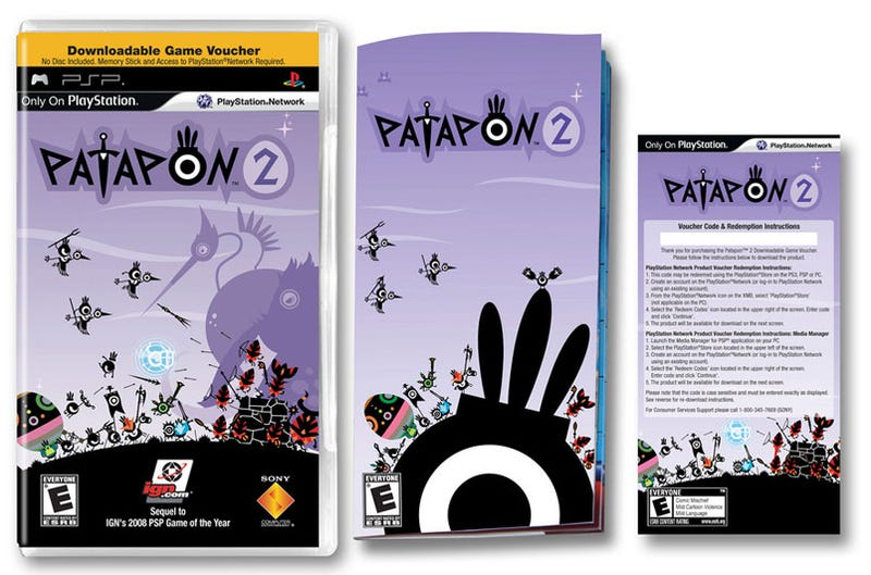 Here's What Comes In Your Patapon 2 Box