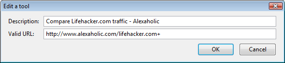 Lifehacker Code: About This Site add-on (Firefox)