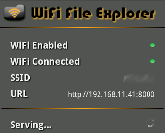 WiFi File Explorer Manages Your Android SD Card from a Web Browser