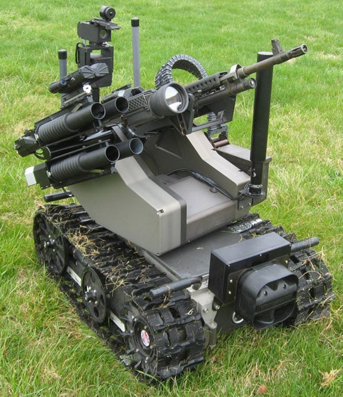 New MAARS Kill-Bot Delivered to Military, May Finally Get to Shoot Something