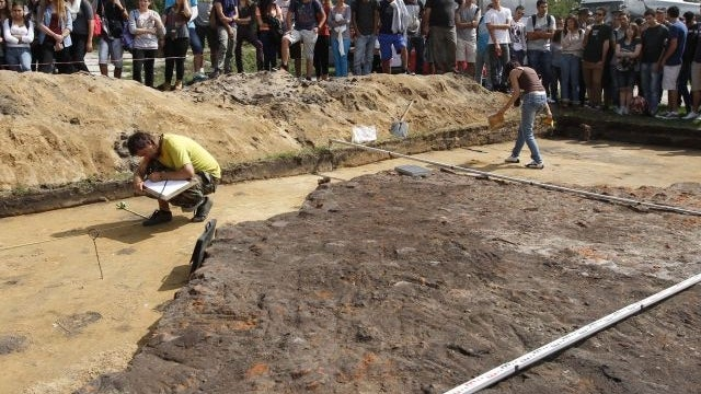 Archaeological dig at Concentration Camp reveals what the Nazis tried to hide